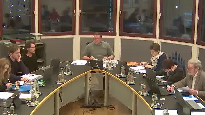 9.0 Questions orales des conseillers